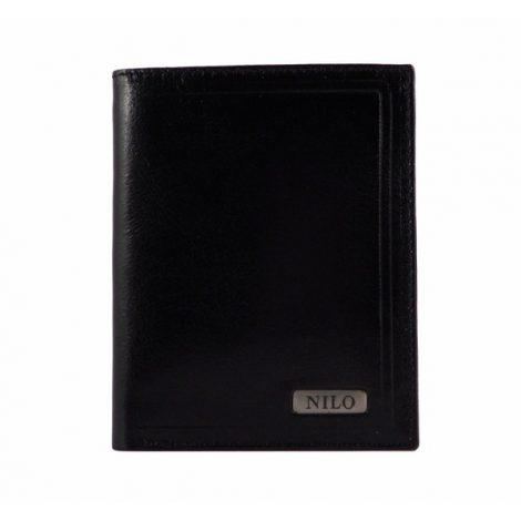 Cartera de piel con doble billetera de colección Nilo
