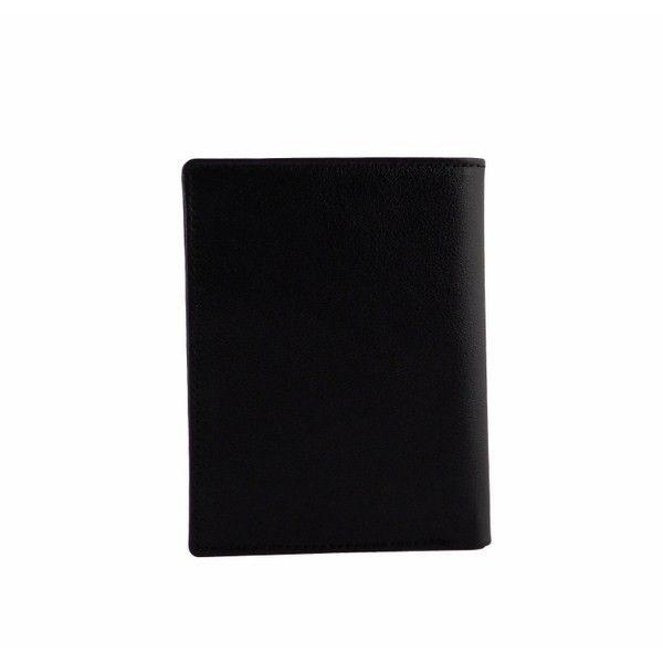 Carteras de caballero en color negro con detalles en otros colores