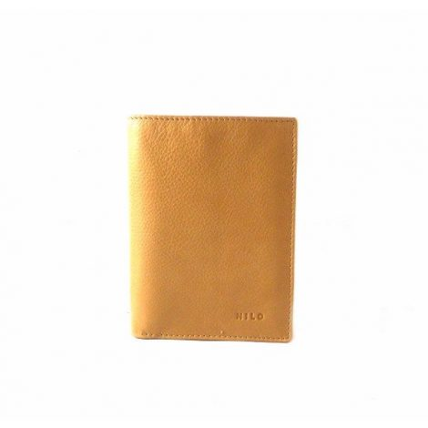 Cartera de piel Nilo para hombre con monedero y funda para carnet
