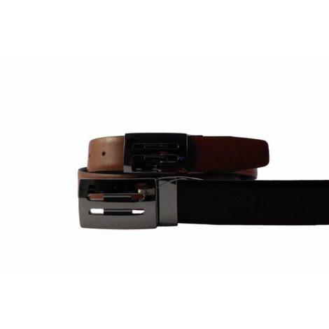 Cinturón para hombre en piel reversible