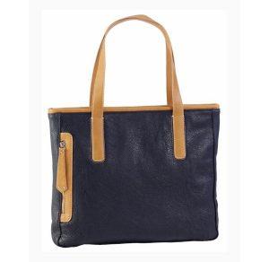 Bolso Matties para mujer color azul marino combinado