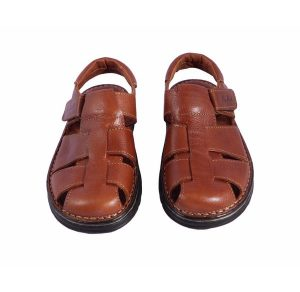 Sandalias de piel cierre del velcro Leyland
