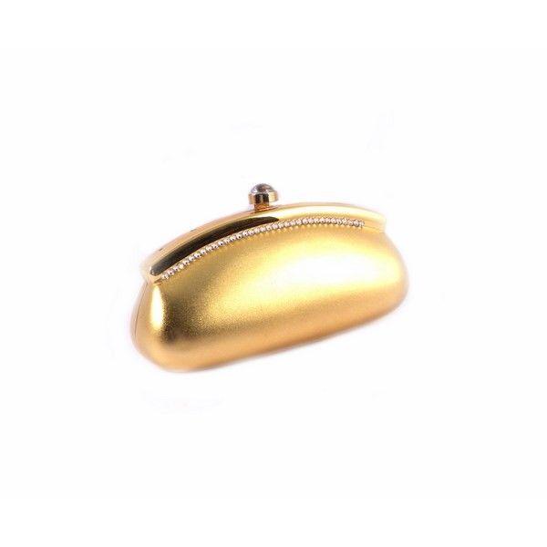 Bolso EFerri metal dorado