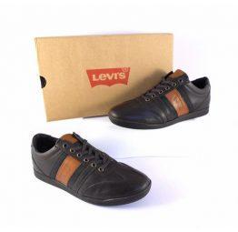 Zapato Levi´s piel marrón y camel