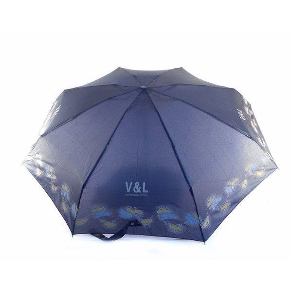 cd56c081803 Paraguas Victorio   Lucchino plegable con bordeado estampado