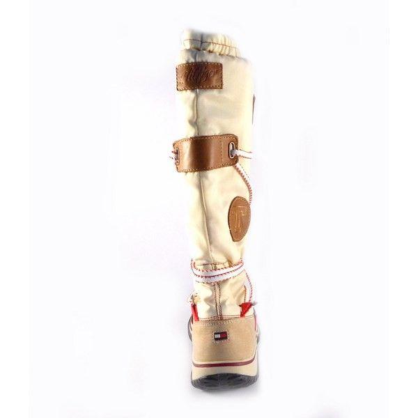 Botas altas Tommy Hilfiger con cordones en caña