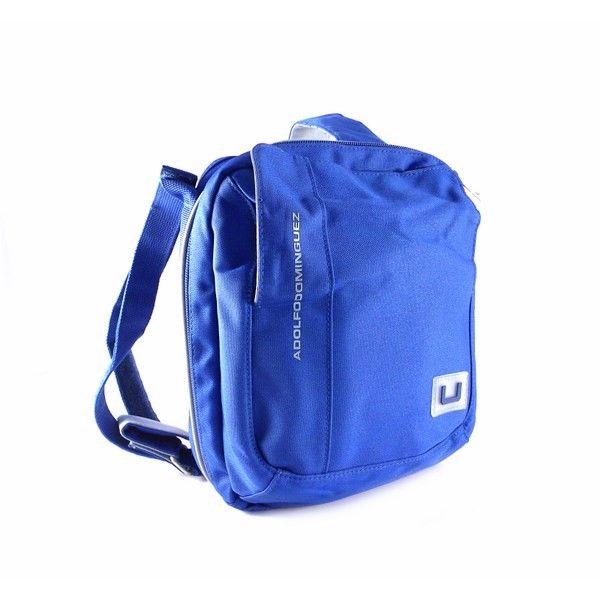Bandolera AD unisex nylon azul