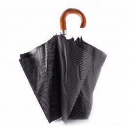Paraguas plegable Bisetti estampado hombre