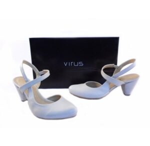 Zapatos Virus Moda blanco roto