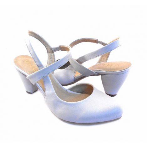 Zapatos Virus Moda blanco roto