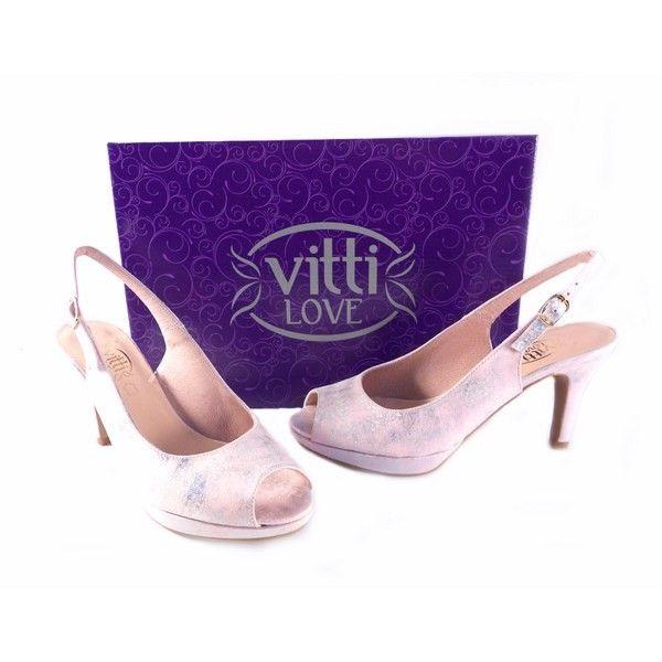 Sandalias peep toe Vitti Love