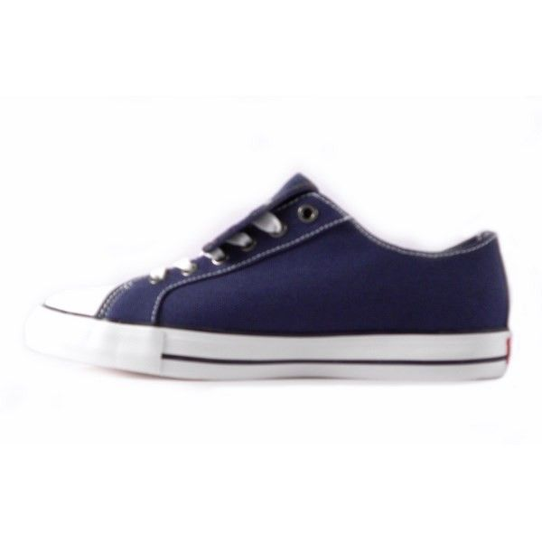 Zapatillas Levis lona con solapa azules