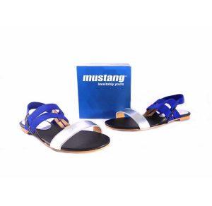 Sandalias Mustang planas con goma