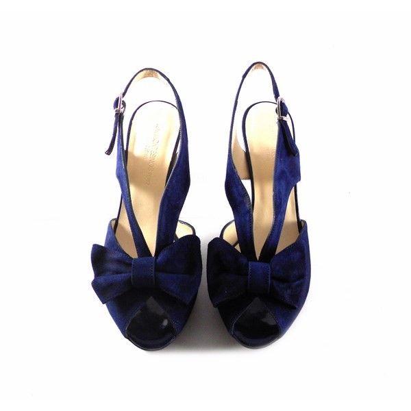 J Charol Zapatos Azul Con montesinos Marino zMqSVpU
