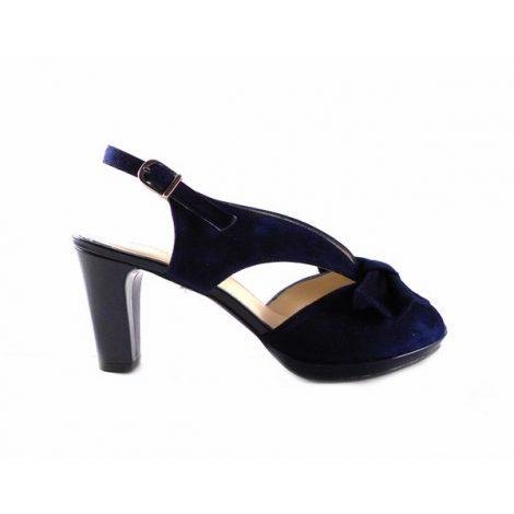 Zapatos J.Montesinos azul marino con charol