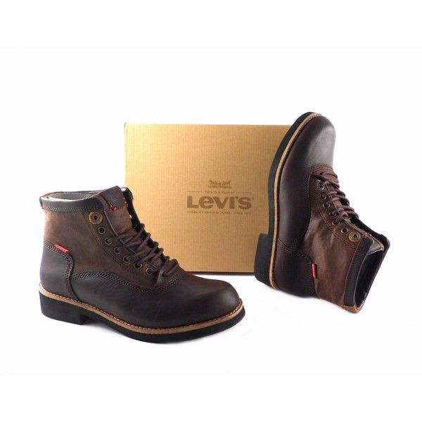 Botas Levis Lawndale Worker Lace en color marrón