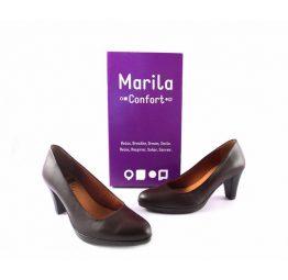 Salones Marila Confort y Relax en color marrón