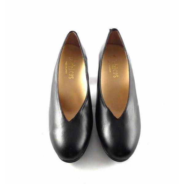 fbff044339e Zapatos D´Chicas Confort salones negros