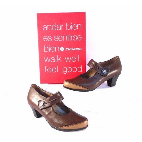 Zapatos Piesanto con pulsera de velcro y plantilla extraible