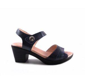Sandalias de tacón confort Kiargo azul marino