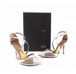 Zapatos E.Ferri fiesta en plata