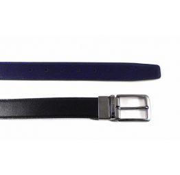 Cinturón M.Bellido reversible negro - azul marino