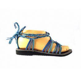Sandalias La Marine nesa combinada en azules