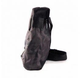 Bandolera Pepe jeans London nylon gris camuflaje