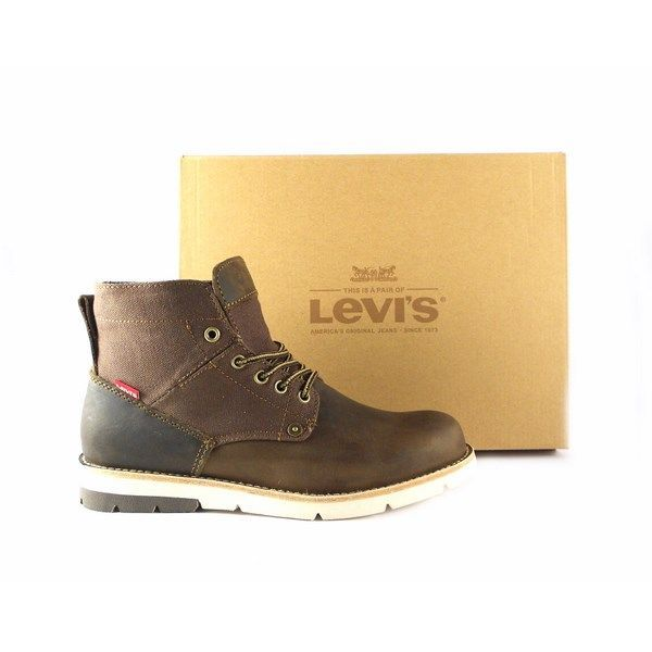 Botines Levis Jax dark brown 77123-0515