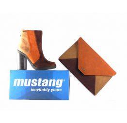 Botines Mustang modelo Tonia color soft testa