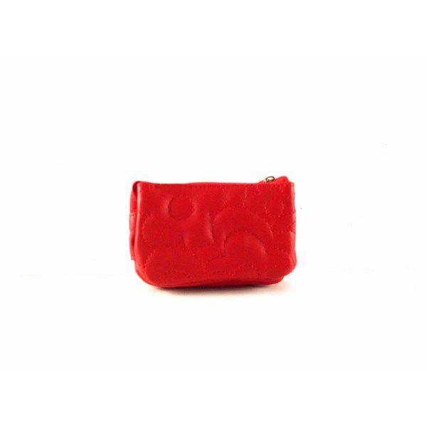 Monedero pequeño Agatha Ruiz de la Prada serie Camelia color rojo o azul