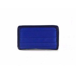 Billetero con monedero pequeña Agatha Ruiz de la Prada serie Michel en color azul