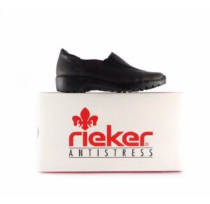 Zapatos confort Rieker Antistress L6064 en color negro
