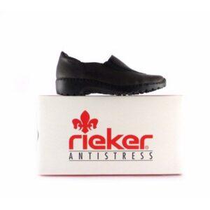 Zapatos confort Rieker Antistress L6064 en color negro