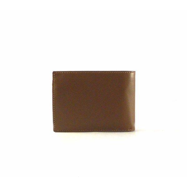 Cartera de piel para hombre Nilo con cierre y monedero de forma horizontal