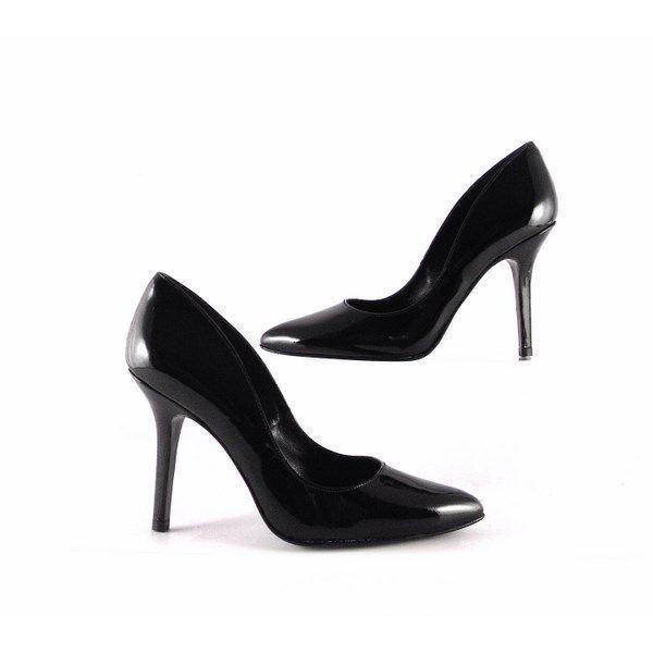 8270ee5ffc Zapatos de salón Gabriela de punta fina charol negros