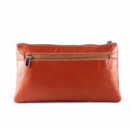 Cartera billetera de mujer en piel Nilo con monedero de cremallera y tarjetero