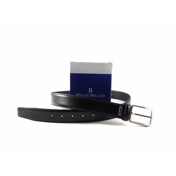 Cinturón Miguel Bellido clásico con hebilla plata