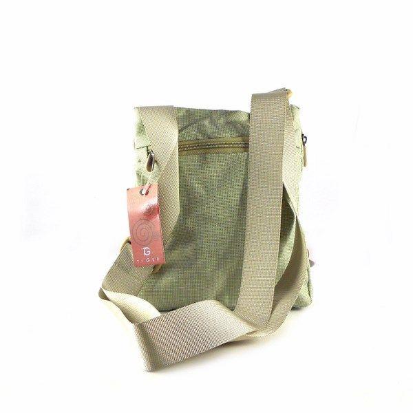 1c4d361b1 Bolso bandolera Urban Bags Tiger en nylon beige o azul marino 3121