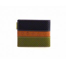 Billetera de hombre con broche tipo americana de estilo rociero