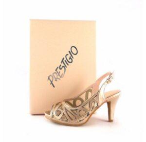 Sandalias de fiesta Prestigio oro taupe