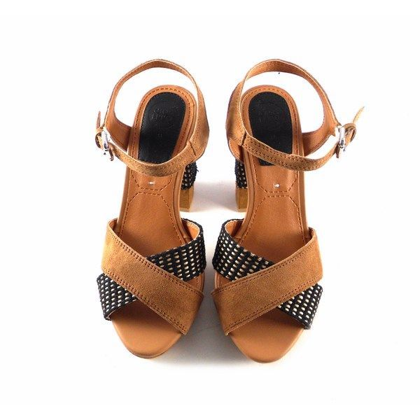Sandalias de tacón Gioseppo modelo Ranuka en color marrón 28021