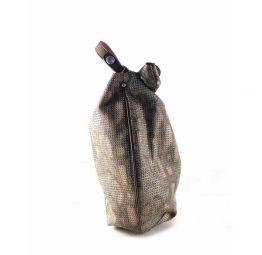 Shoulder bag picado Garni Milano GF321--AZ-CU metalizado