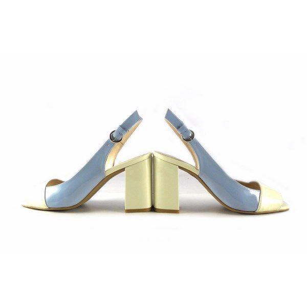Zapatos Gabriela 3403 charol off white/ setubal