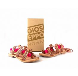 Sandalias de piel Gioseppo color fuxia modelo Yurak
