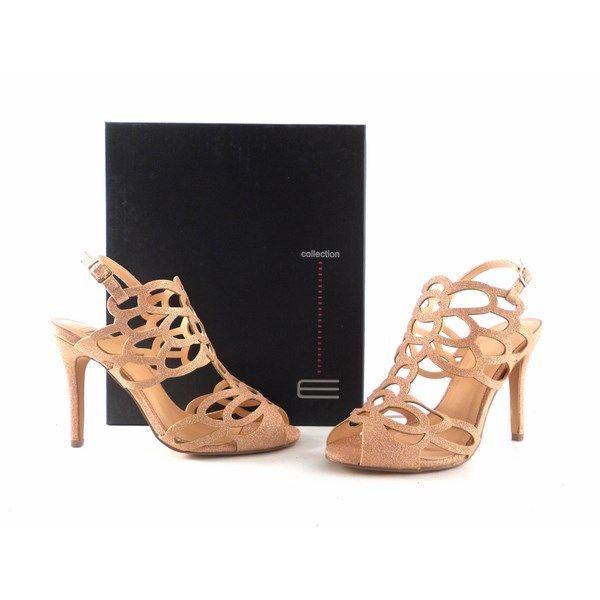 Sandalias de fiesta E.Ferri Glamour nude glitter 0HV0708