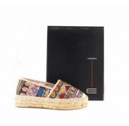 Zapatillas de esparto étnicas planas E.Ferri Fashion 0HV0793