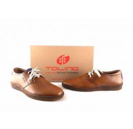 Zapatos Tolino con cordones serie Basile en color cuero 61100