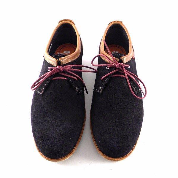 66706 Azul Para Zapatos Serraje Hombre Piel Marino En Tolino 7Cq81x