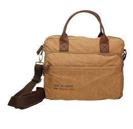 Cartera messenger Coronel Tapiocca CT503 en color cuero